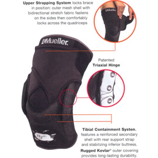 Mueller Adjustable Hinged Knee Brace Instructions