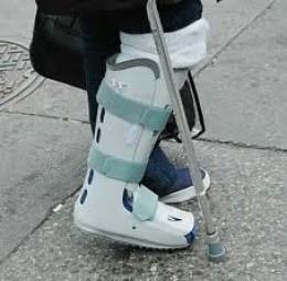 orthopedic leg brace