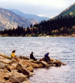 Pictures of historic georgetown buildings in colorado for Lake georgetown fishing
