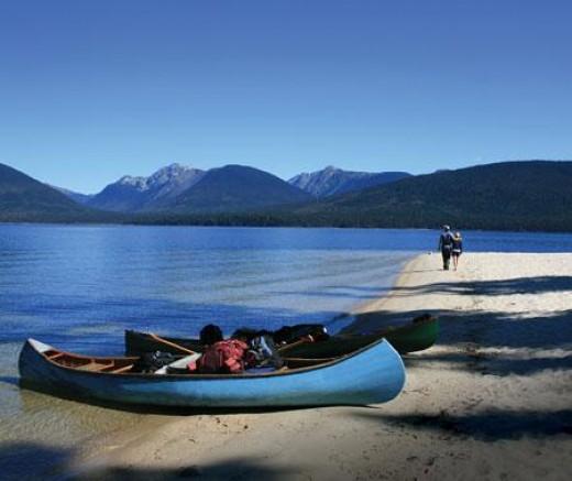Murtle Lake in Wells Gray Provincial Park