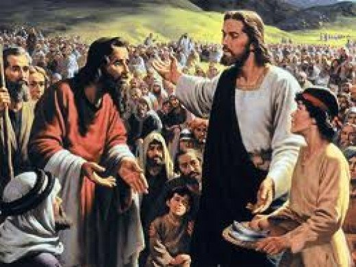 "Jesus fed the hungry. At least many Christians do this for the poor, but it is often too little and too far apart. Some people shout ""Get a job"" when someone asks for food."