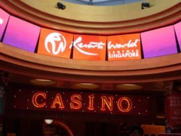 One of only two casinos in Singapore. Operated by Resorts World Sentosa.
