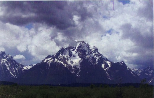 Grand Tetons of Wyoming