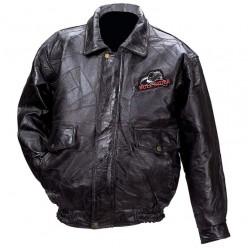 итальянские мужские кожаные куртки.