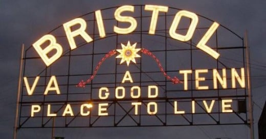 Bristol sign over State Street