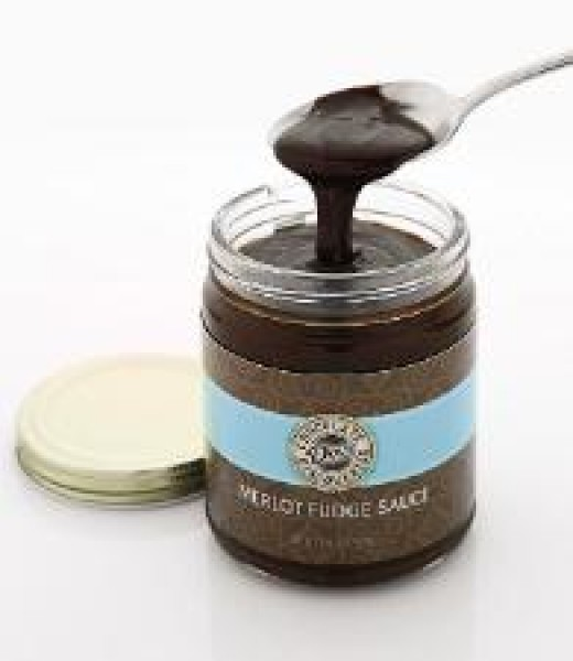 Merlot Fudge Sauce