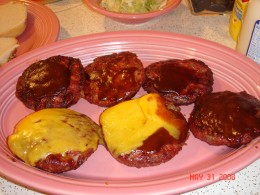 Grilled Hamburgers by Beryl Stokes
