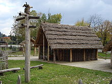 Fig.1  Neolithic house