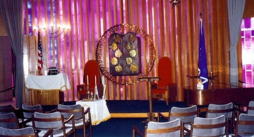 Jewish portion of the Air Force Academy chapel