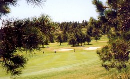 Golf course on the Air Force Academy grounds
