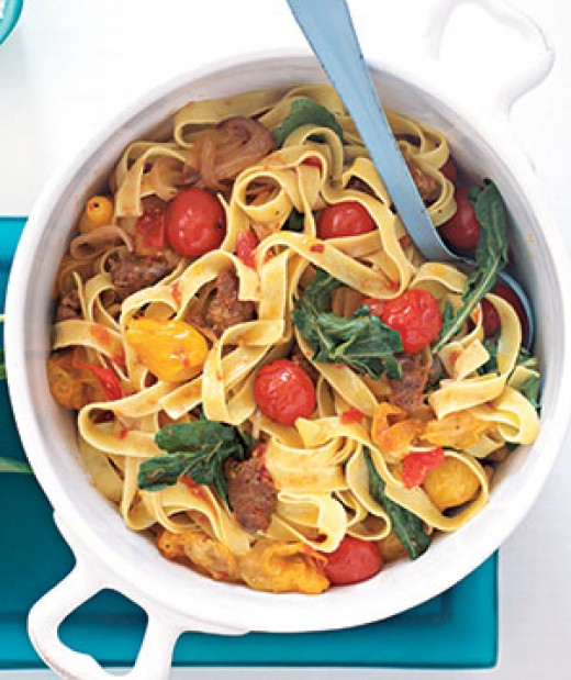 Here is another of my favorite pasta dishes.
