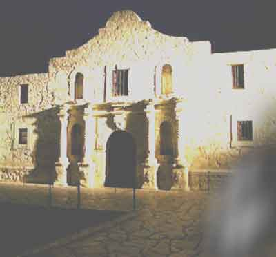 The Alamo is said to be one of the most haunted places in Texas.