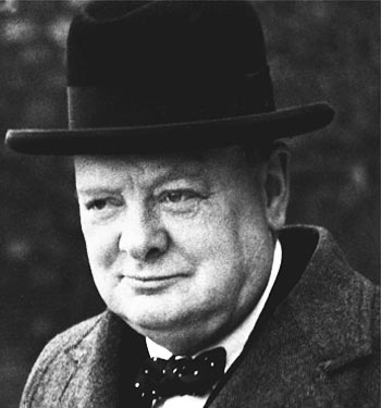 "Churchill believed that a leader had to be a student of history. He once said, ""the longer you look back, the farther you can look forward."""