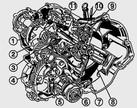 Ford Fiesta Gearbox Diagram