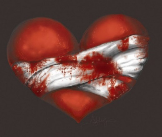 Yes I bleed.