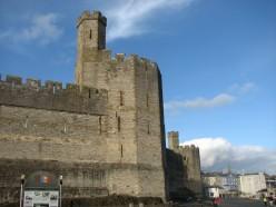 North Wales Caernarfon Castle