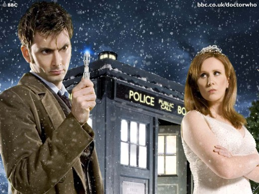Doctor Who and his New Assistant Donna