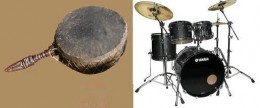From Tambour to Drum set