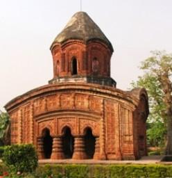 Ananta Basudeva Temple. Bansberia,Dt : Hooghly. 'Raja-Mahasai' Rameswar Debroy. 1679 AD.