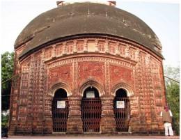RadhaGovindajiu's Temple. Antpur,Dt : Hooghly. Dewan Krisnaram Mitra. 1786 AD.