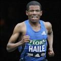 Haile Gebresellassie, Ethiopian champion marathon runner.