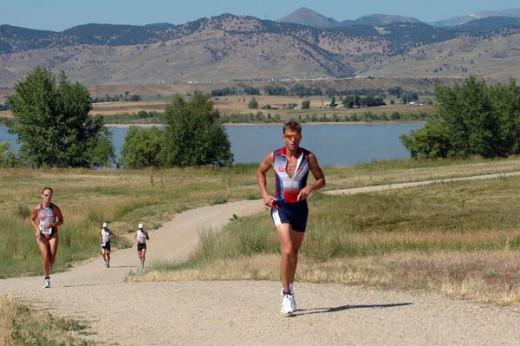 The Boulder Peak Triathlon, Colorado, USA