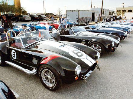 Texas Cobra Club Spring Meet Kit Car Event