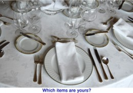 Photo Courtesy of Dining Etiquette Seminar