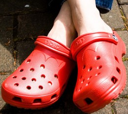 Crocs image courtesy of Roland on Creative Commons.