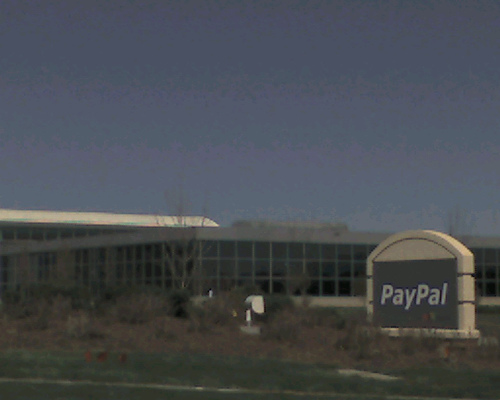 English: PayPal Headquarters Source http://consumerist.com/consumer/leaks/302-phone-numbers-to-reach-a-human-at-paypal-307621.php Author: Michael Sauers
