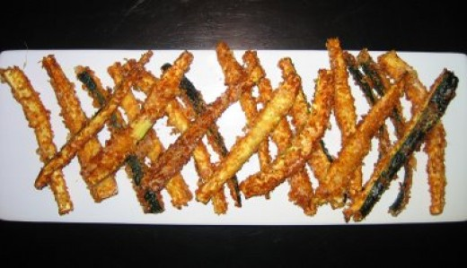 If you haven't tried Zucchini Fries yet you don't know what your missing.
