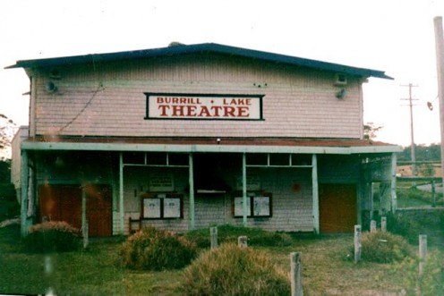 BURRILL LAKE OPEN AIR THEATRE in the early 1970's