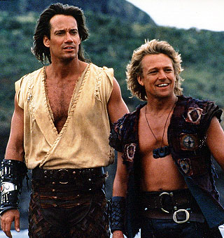 Hercules and Iolaus (Google Image)
