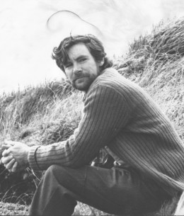The writer shortly after arrival on MacQuarie Island, summer of 1976, contemplating a year in isolation