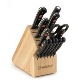 Wsthof Gourmet 14-Piece Deluxe Knife Block Set