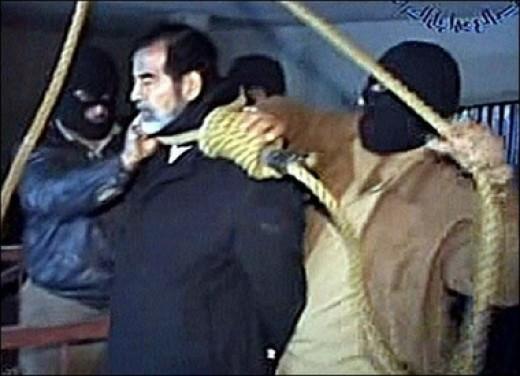 No thats Saddam Sir; we want Bin Laden