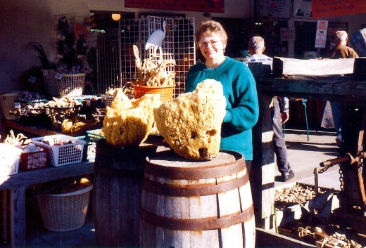 Look at the size of some of those sponges in Tarpon Springs, Florida.
