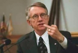 Senate Majority Leader Harry Reid from the great State of Nevada...Hey come on Harry, Is that entirely necessary?