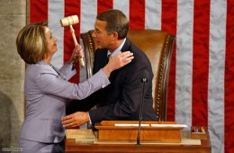 Don't get to comfortable JB...Just keepin' er warm Madame Speaker