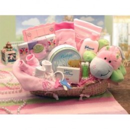 Our Precious Baby Girl Gift Basket Available Above