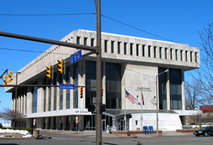 The Carl B. Stokes Public Utilities Building, Cleveland, Ohio