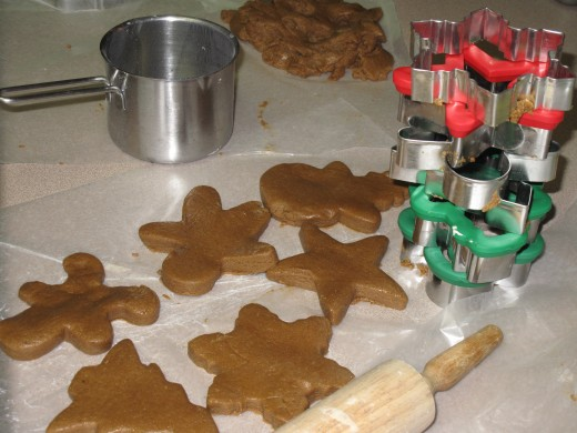 Making Christmas cookies to share has been a part of our family's Christmas traditions for many years.