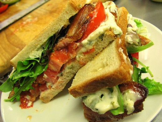 I think you will agree when you taste it that this is truly the ultimate BLT sandwich.