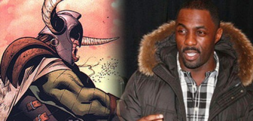 Idris Elba and the Comic Book depiction of Heimdall