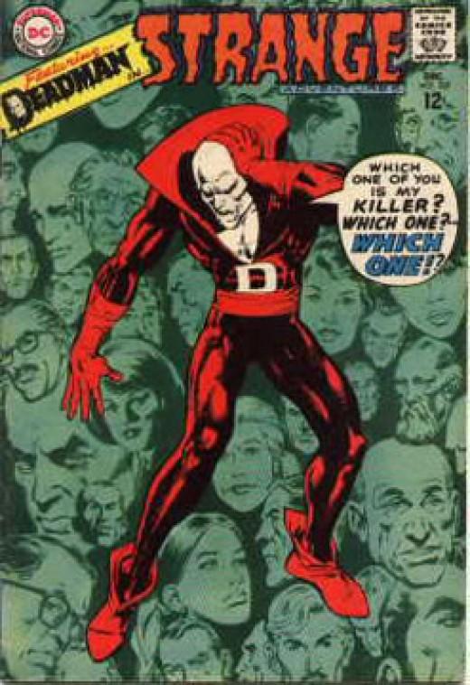 Deadman by Neil Adams for DC Comics