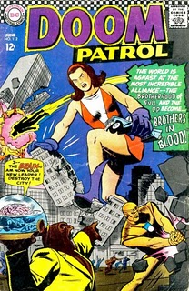 The Doom Patrol by Bruno Premiani for DC Comics