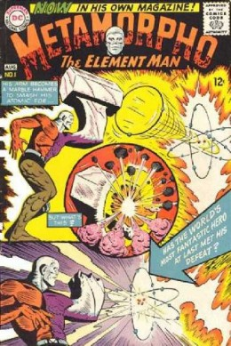 Another great Metamorpho cover by Ramona Fradon