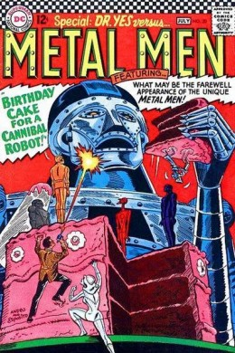 The Metal Men by Ross Andru for DC Comics