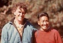 Two icons of Mt. Everest TENZING and HILLARY the first to climb Mt. Everest successfully