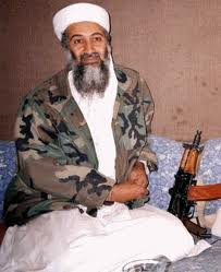 Bin Laden after he survived the attack.